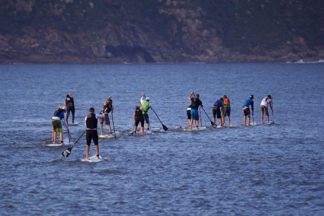 Stand Up Paddle Race in Houts Bay South Africa