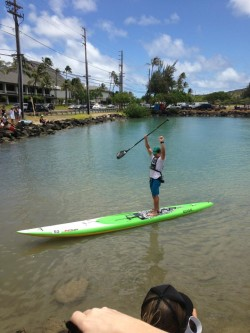 Travis Grant wins Molokai