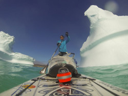 Bart de Zwart's SUP Arctic Crossing