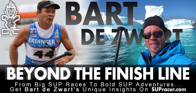 Bart de Zwart's SUP 11 City Tour 2013