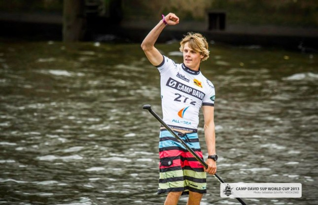 Casper Steinfath SUP World Cup