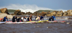 Stand Up Paddle racing in South Africa
