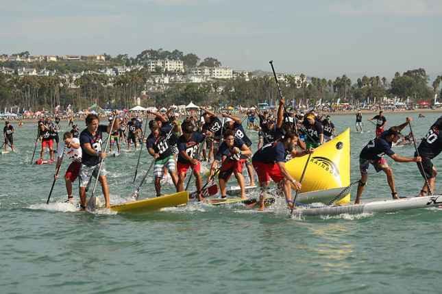 Battle of the Paddle Elite Race