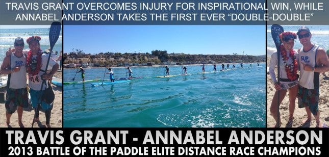Battle of the Paddle - Travis Grant and Annabel Anderson