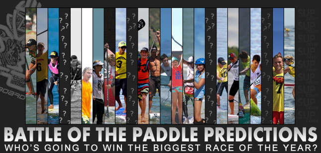 Battle of the Paddle predictions