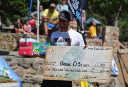 Beau O'Brian SUP Race Lake Tahoe