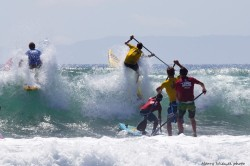 Huntington Beach Stand Up Paddle race