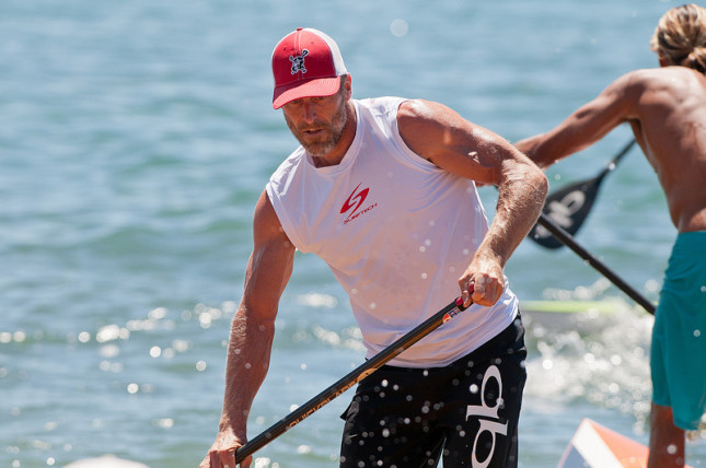 Larry Cain Stand Up Paddling