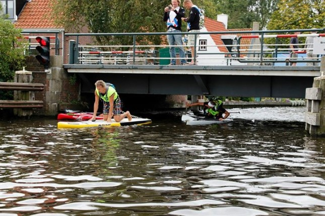 SUP 11 City Tour race in the Netherlands