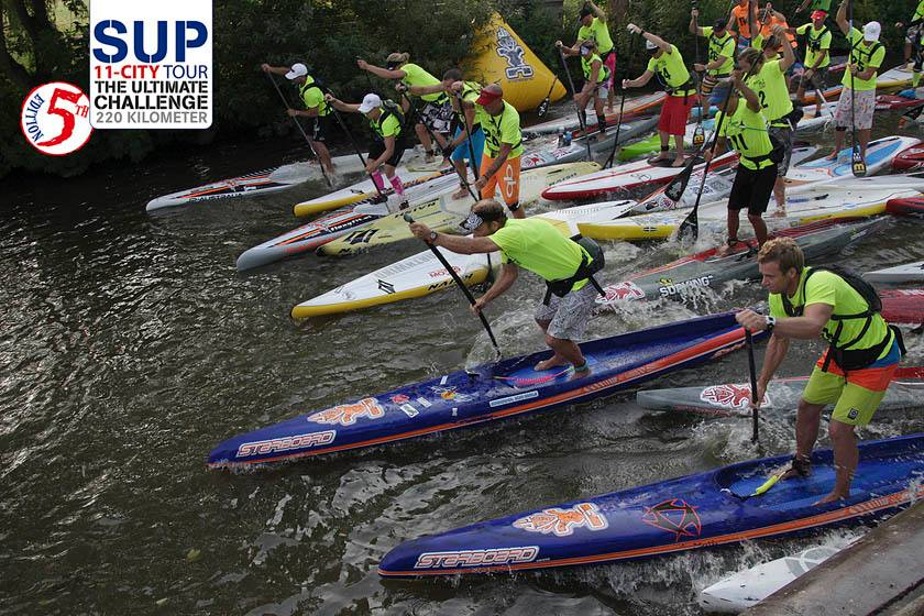 Inflatable Sup Race Results