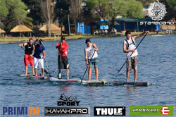 Stand Up Paddle Race in South Africa