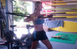 Suzie Cooney training Maui