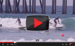 Video Stand Up Paddle Race Huntington