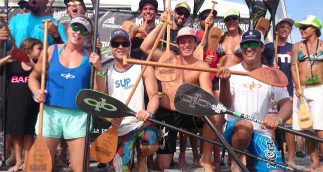 Battle of the Paddle Brazil team relay