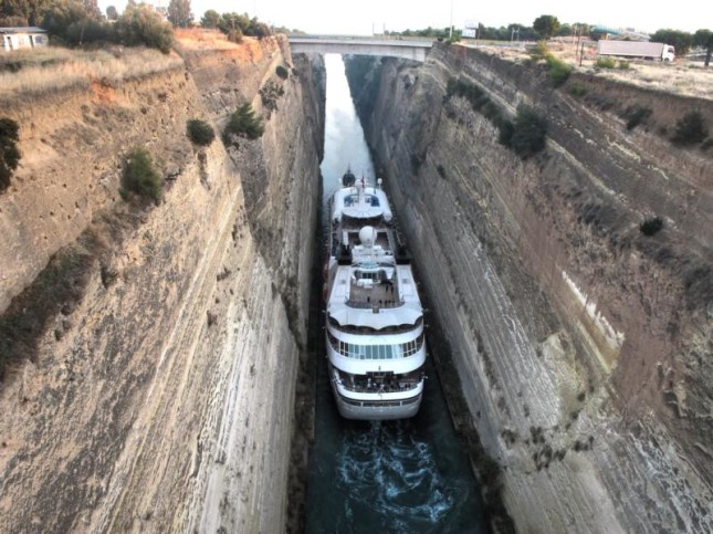 Corinth Canal SUP