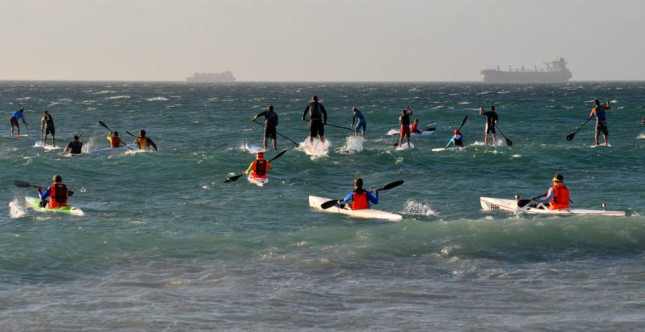 Downwind Dash Stand Up paddle race South Africa (3)
