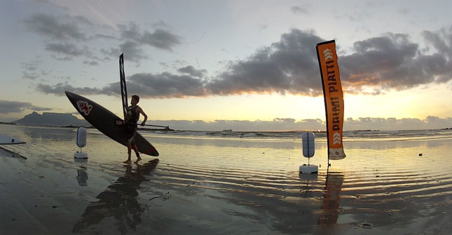 Dylan Frick Stand Up Paddling South Africa