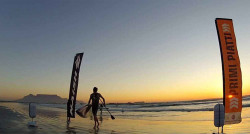 Dylan Frick stand up paddle race south africa