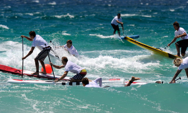 Australian SUP Tiles Course Race