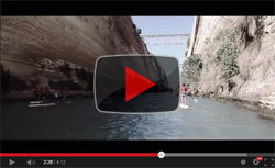 Corinth Canal Stand Up Paddle race