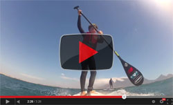 stand up paddle downwinder video