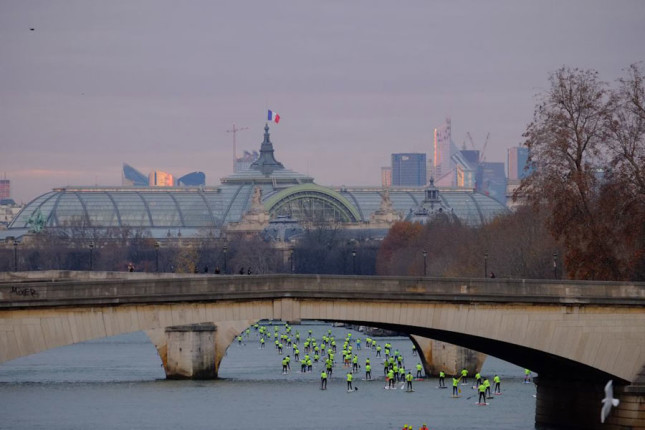 2013 Nautic SUP Crossing Paris