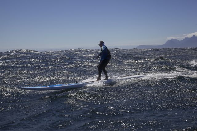 Chris Bertish Downwind paddling