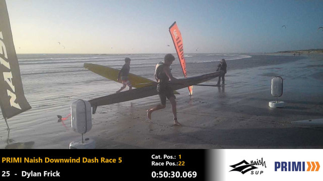 Dylan Frick and Ethan Koopmans photo finish