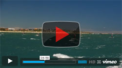 King Of The Cut Stand Up Paddleboard race video