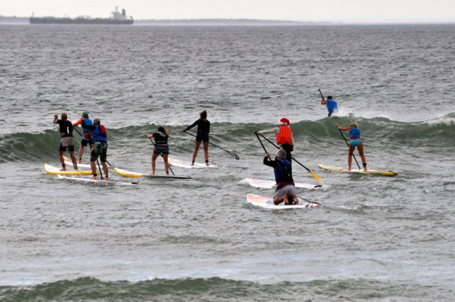 Stand Up Paddle racing