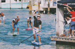 2014 Orange Bowl Stand Up Paddle race