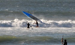 Downwind SUP Race in South Africa