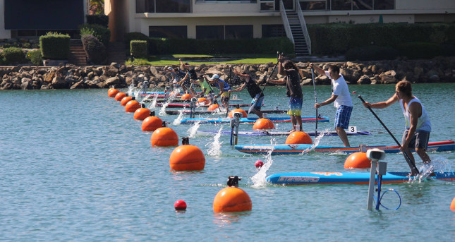 SUP-racing-in-lanes-Olympic-rowing-course