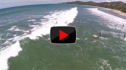 Stand Up Paddleboard race video in Mexico