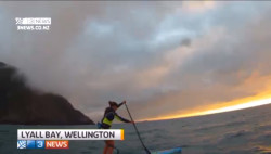 Annabel Anderson's Cook Strait crossing