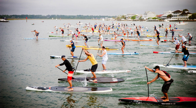 Carolina Cup stand up paddle race