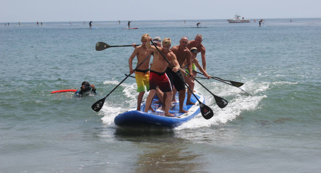 Giant Inflatable Stand Up paddleboard