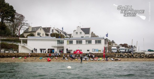 Swell Beach Race Series - Stand Up Paddle race France