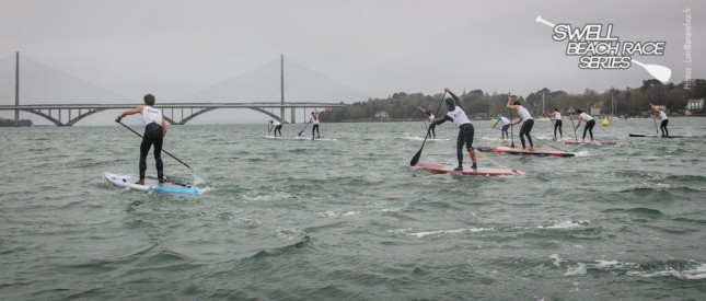 Swell Beach Race Series - Stand Up Paddling race in France