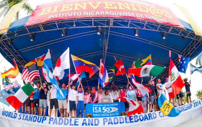 ISA World SUP Championship Opening Ceremony