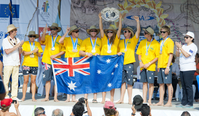 ISA World SUP Championship - Team Australia