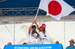 ISA World SUP Championship - Team Japan