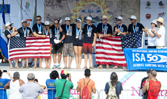 ISA World SUP Championship - Team USA