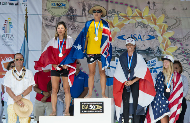 ISA World SUP Championship - Women's Course