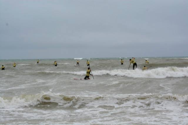 Ile de Re Stand Up Paddle race France