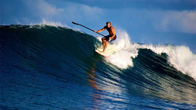Laird Hamilton Stand Up Paddling