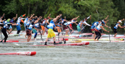 Lost Mills SUP race germany
