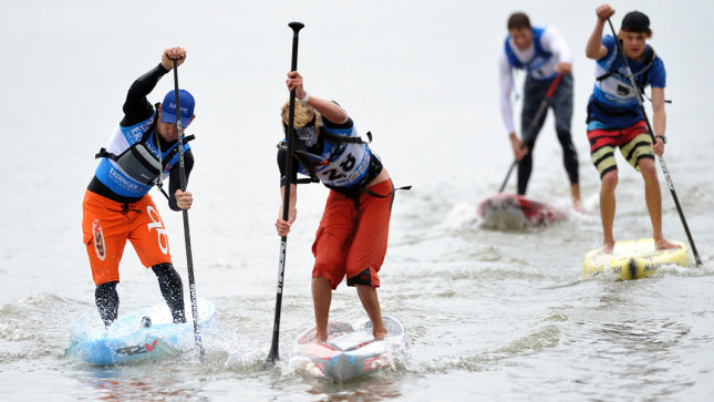 Lost Mills stand up paddle race germany