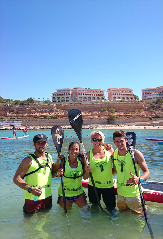 Port Adriano Stand Up Paddle race