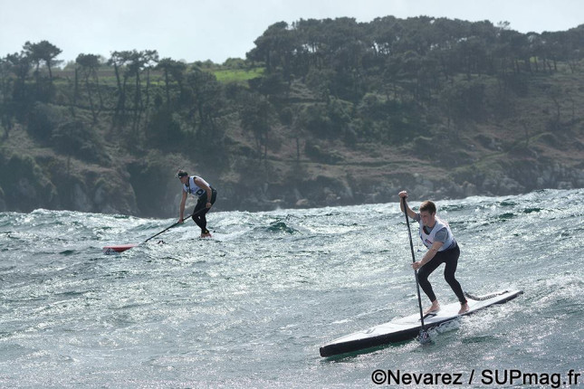 Stand Up Paddle downwinder France